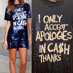Zara Sequin Dress MARKDOWN